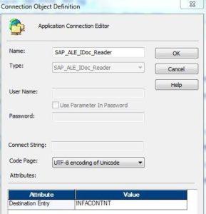 Informatica BCI Extraktion - SAP ALE IDoc Reader
