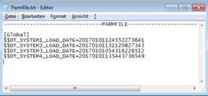 Informatica - Parameterfile dynamisch generieren - Output